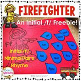 Firefighter Craftivity Initial F Freebie