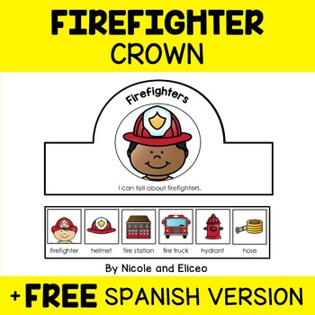 Crown Craft - Firefighter Activity