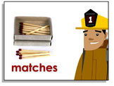 Firefighter Dan™ Fire Prevention Fun Sheets