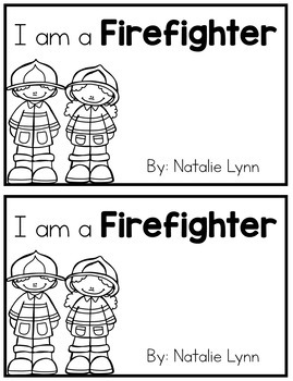 Firefighter Emergent Reader