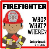 Firefighter Fold&Learn