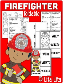 Firefighter Fold&Learn