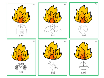 Fireman Interactive Articulation and Phonology Activity!