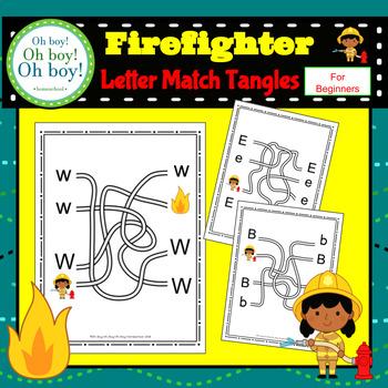 Firefighter Letter Match - S