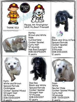 """Firefighter """"Make Your Own For Pets"""" (Window Decal)"""