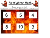 Firefighter Math/Community Helpers