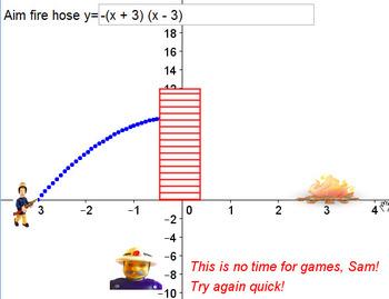 Firefighter Parabolas