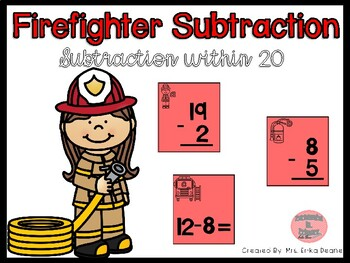 Firefighter Subtraction within 20