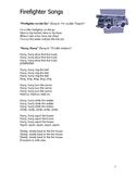 Firefighter Theme: Curriculum Ideas for Preschool or Kindergarten