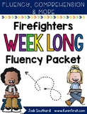 Firefighter Week Long Fluency Packet - Week 3 of March Packet