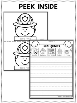Writing Craft - Firefighter Activity