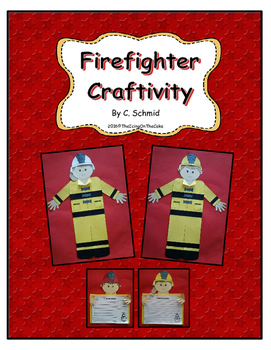 Firefighter Writing and Craftivity Bundle