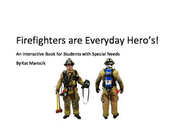 Firefighter as a Community Helper Interactive Book for Kid