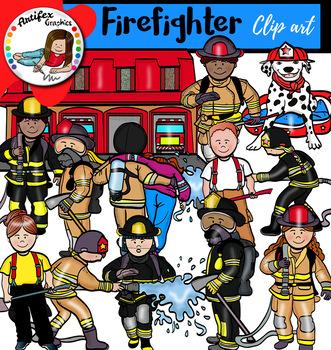 Firefighter clip art