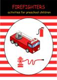 Firefighter logical thinking preschool worksheet homeschoo