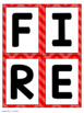 Firefighters Making Words Center