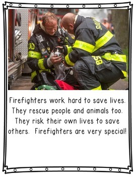 Firefighters: A Non-Fiction Book