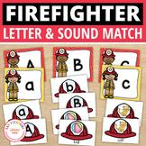 Firefighters Alphabet & Beginning Sound Activity | Community Helpers Literacy