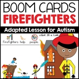 Firefighters Boom Cards (Adapted Activity for Autism)