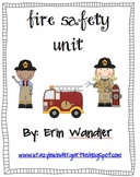 Firefighters, Fire Safety, and a Trip to the Fire Station