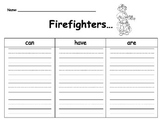 Firefighters Graphic Organizer