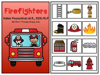 Firefighters Interactive Vocabulary Book
