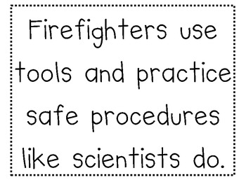 Firefighters Need Tools Brainstorming Map