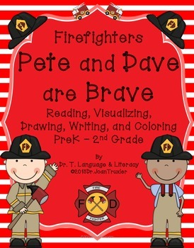 Freebie: Firefighters Pete and Dave are Brave