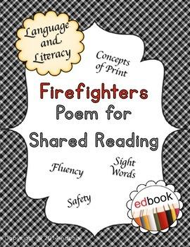 Firefighters Poem {No Prep}