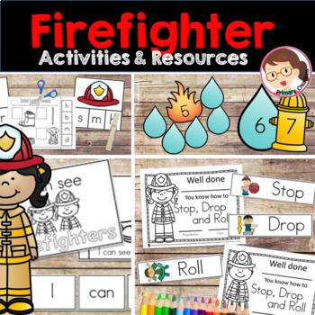 Firefighters Preschool/PreKinder Pack