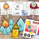Firefighters Preschool and PreKinder Literacy and Maths Activities