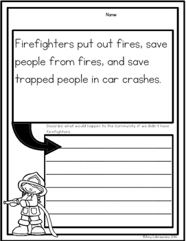 Firefighters Reading Passages