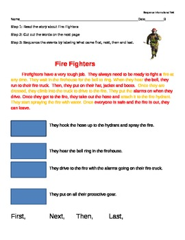 Firefighters Sequencing