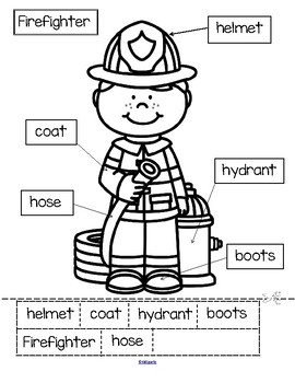 Firefighters Theme Unit for Preschool