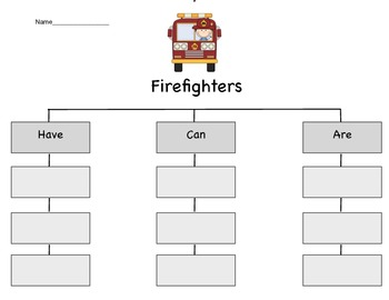 Firefighters Tree Chart