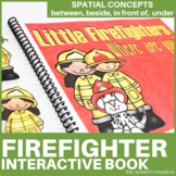 Firefighters Where Are You? Preposition Interactive Book