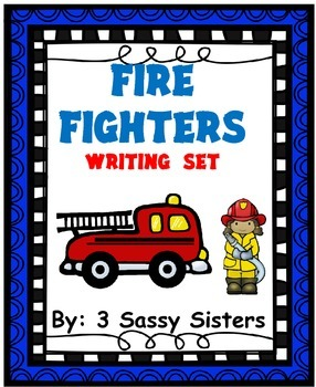 Firefighters Writing Set