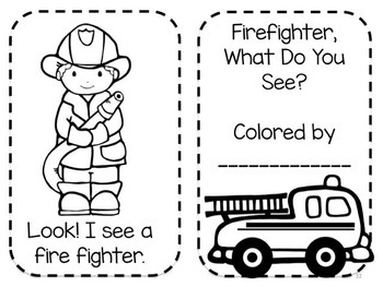 Firefighters and Fire Safety Literacy Pack
