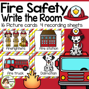 Fire Safety Write the Room (plus sound cards)