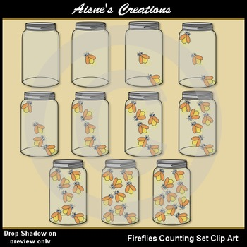 Fireflies Counting Set