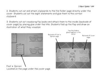 Fireflies! Mentor Text Interactive Notebook or Lapbook