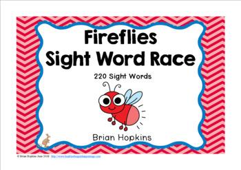 Fireflies Sight Word Race