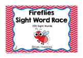Fireflies Sight Word Race