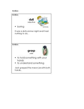 Fireflies Vocabular