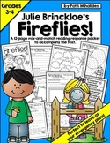 Fireflies! by Julie Brinckloe: Reading Response Packet