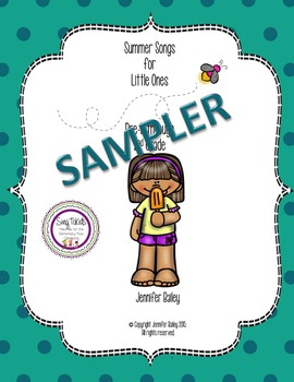 Summer Songs and Activities SAMPLER