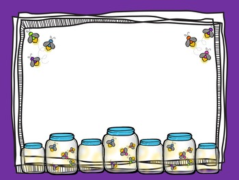 Firefly Back To School, End or Year, Make Your Own Rules Editable Powerpoint