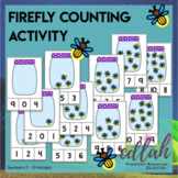 Firefly Clothes Pin Counting Activity - Numbers 0-10 - Distance Learning