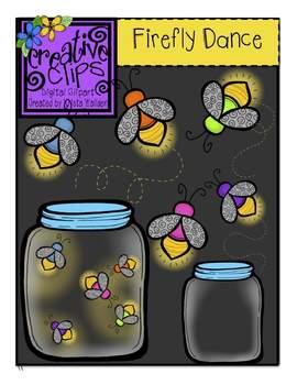 Firefly Dance {Creative Clips Digital Clipart}