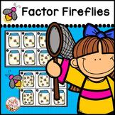 "Factors and Multiples ""Factors Fireflies Game"""